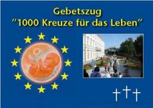 "Gebetszug ""1000 Kreuze für das Leben"" - Fulda @ Fulda"