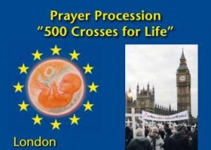 "Gebetszug ""500 Crosses for Life"" - London @ London | Großbritannien und Nordirland"