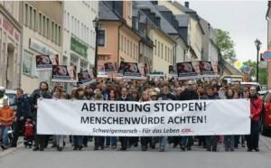 Schweigemarsch für das Leben - Annaberg @ 09456 Annaberg-Buchholz | Annaberg-Buchholz | Sachsen | Deutschland